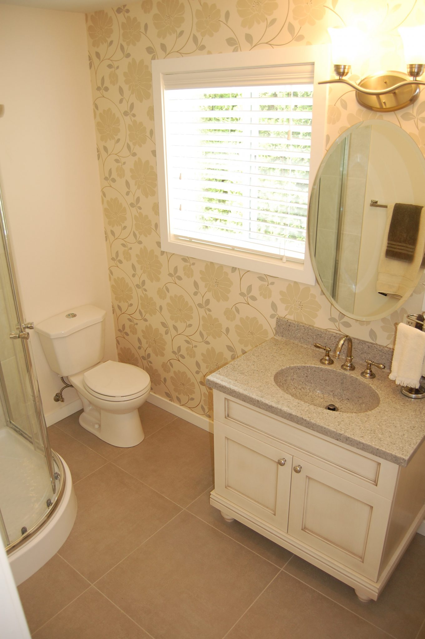 Bathroom after! | Creative Touch Kelowna Interior Design