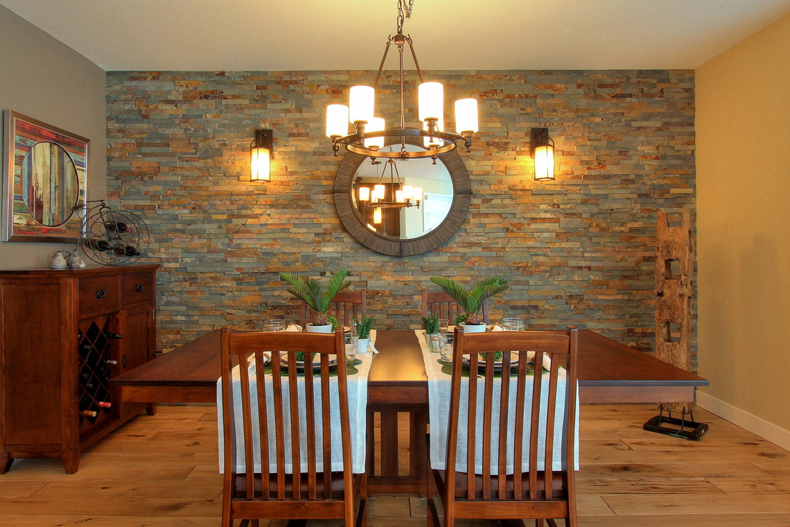 Dining room after! | Creative Touch Kelowna Interior Design