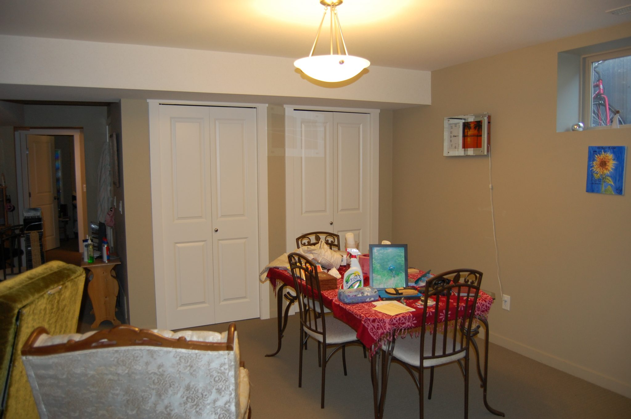 Interior Design Kelowna - Creative Touch - dining area before renovation