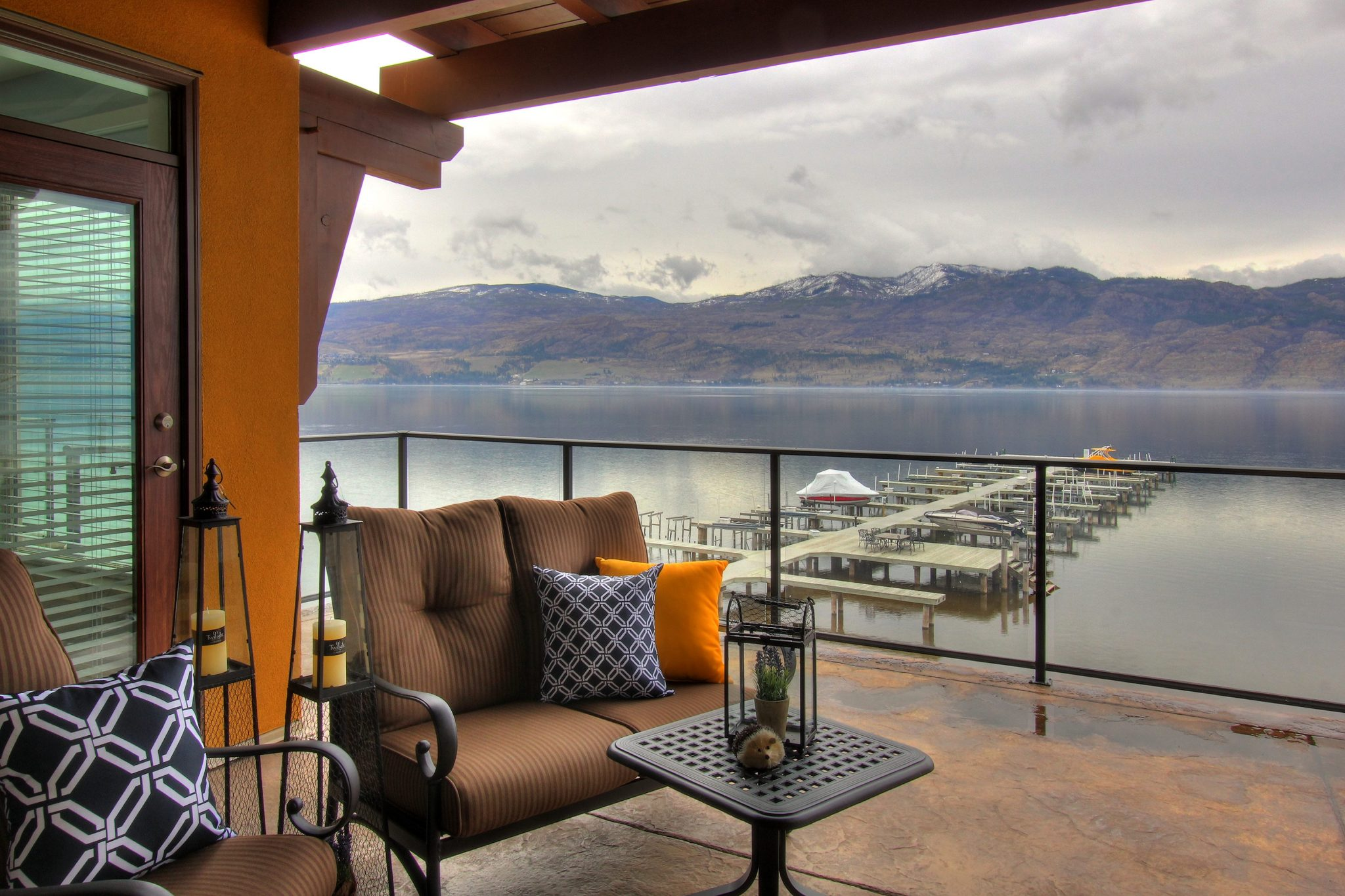 Patio after!   Creative Touch Kelowna Interior Design