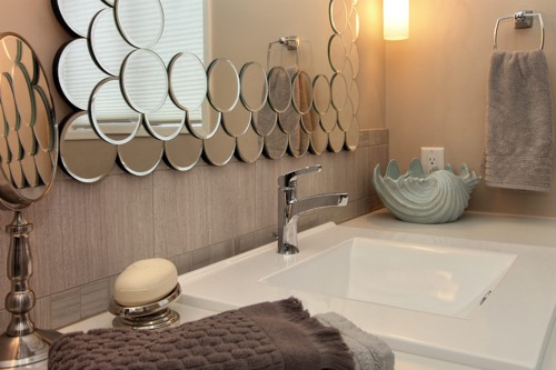 Interior Design Kelowna - Creative Touch - Custom vanity mirror