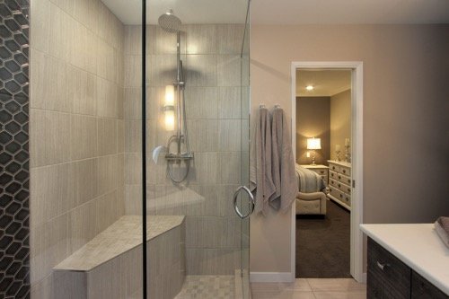 Interior Design Kelowna - Creative Touch - Ensuite bathroom