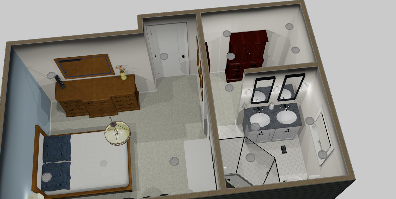 Interior Design Kelowna - Creative Touch 3D design render