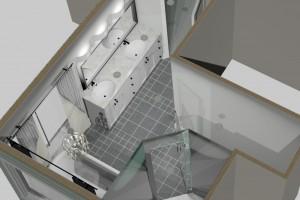 After Cascia Drive Bathroom | Creative Touch Kelowna Interior Design