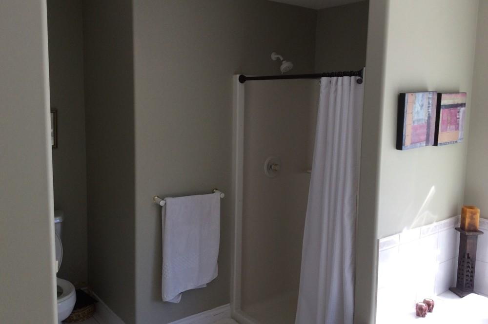 Spa themed bathroom renovation creative touch interiors inc for Spa themed bathroom ideas