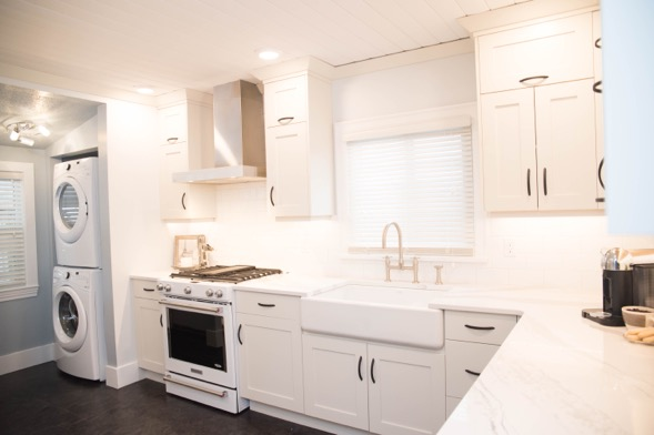 Heritage Home Kitchen Remodel After   Creative Touch Kelowna Interior Design
