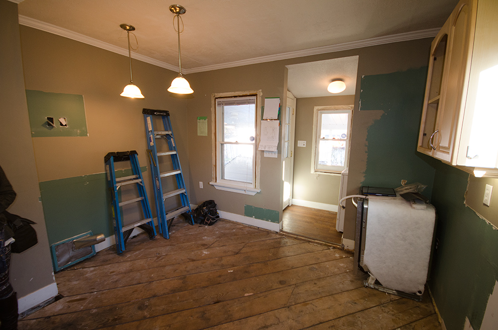 Heritage Home Kitchen Remodel Before   Creative Touch Kelowna Interior Design
