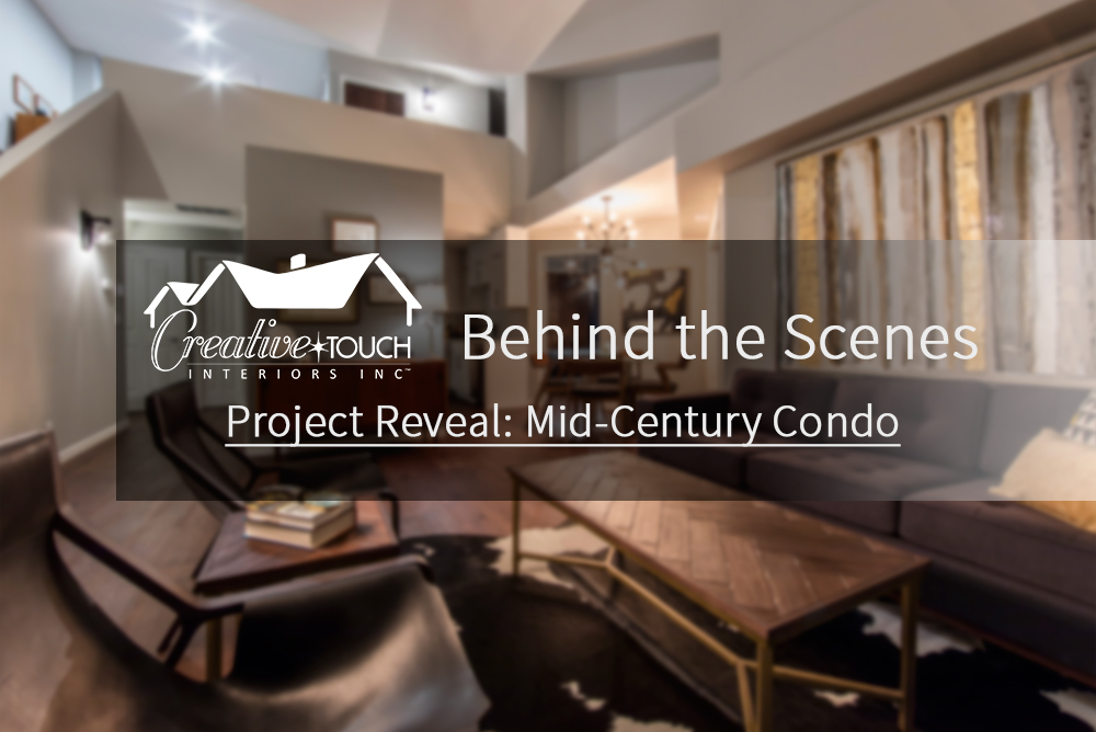 Interior Design Kelowna - Creative Touch Interiors - Project Reveal: Mid-Century Condo