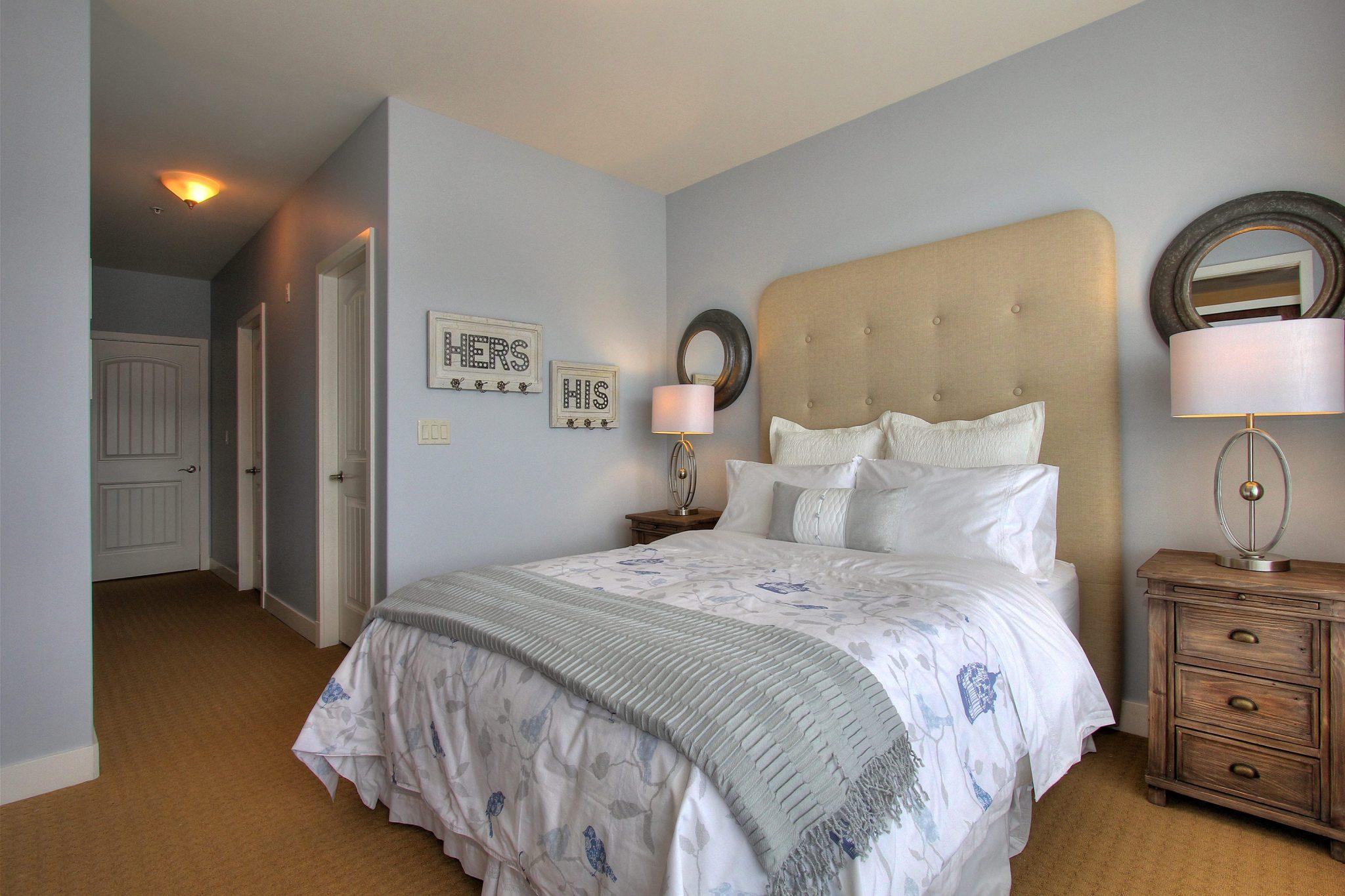 Bedroom after! | Creative Touch Kelowna Interior Design
