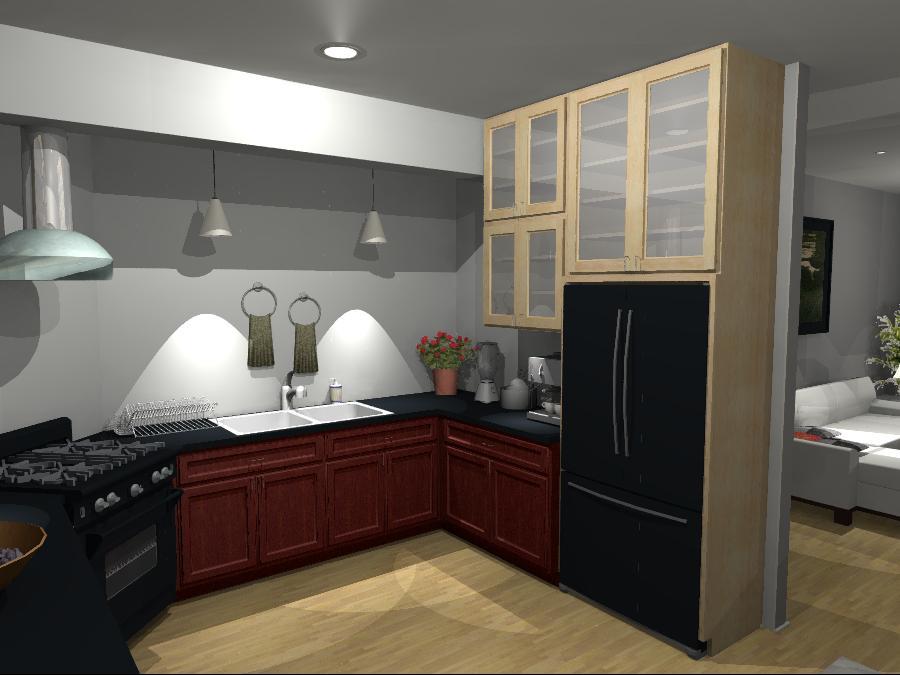 Interior Design Kelowna - Creative Touch - Design Render of kitchen