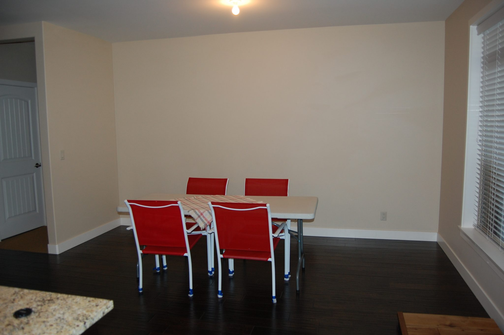Dining room before... | Creative Touch Kelowna Interior Design