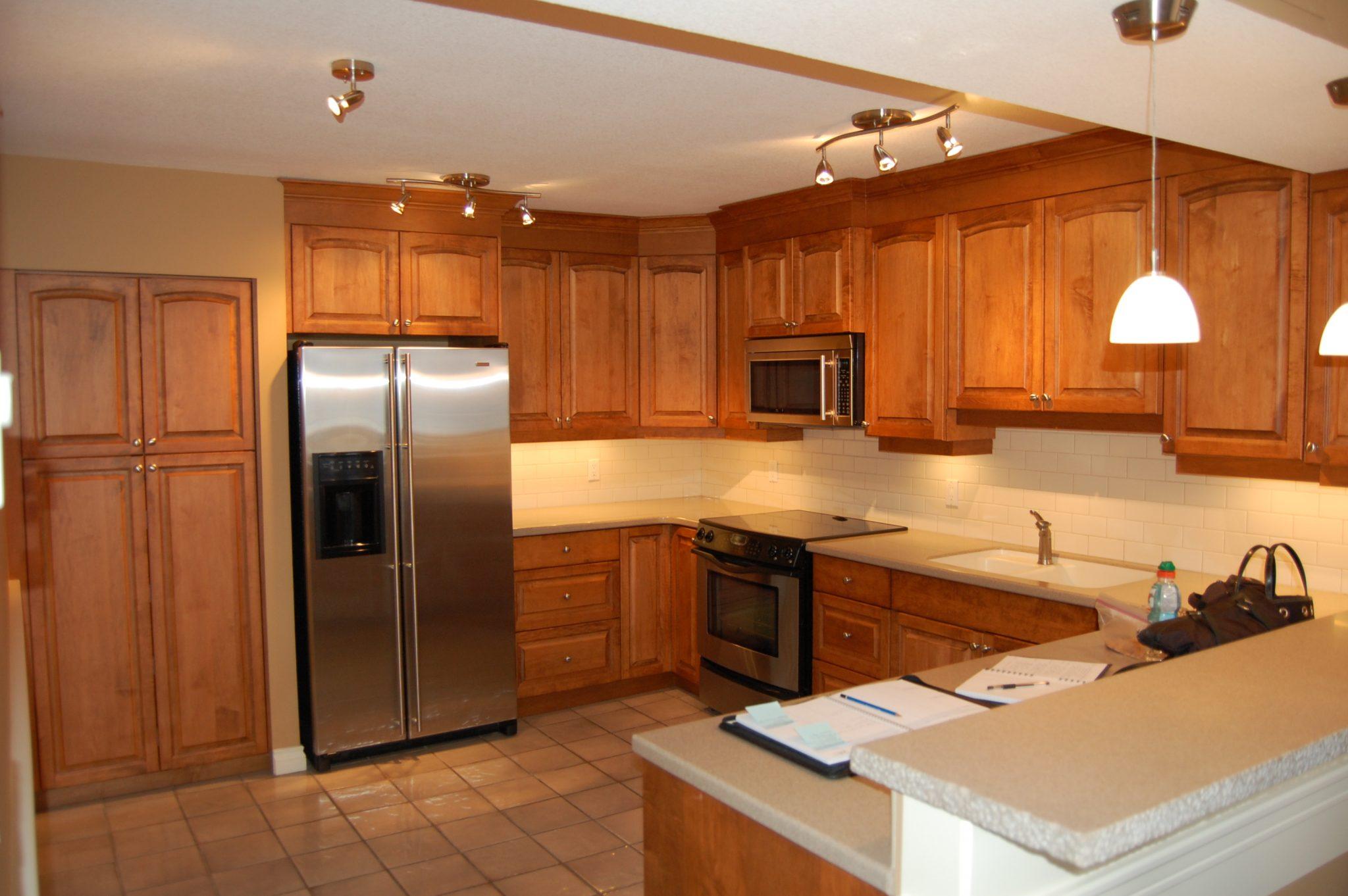 Kitchen before... | Creative Touch Kelowna Interior Design
