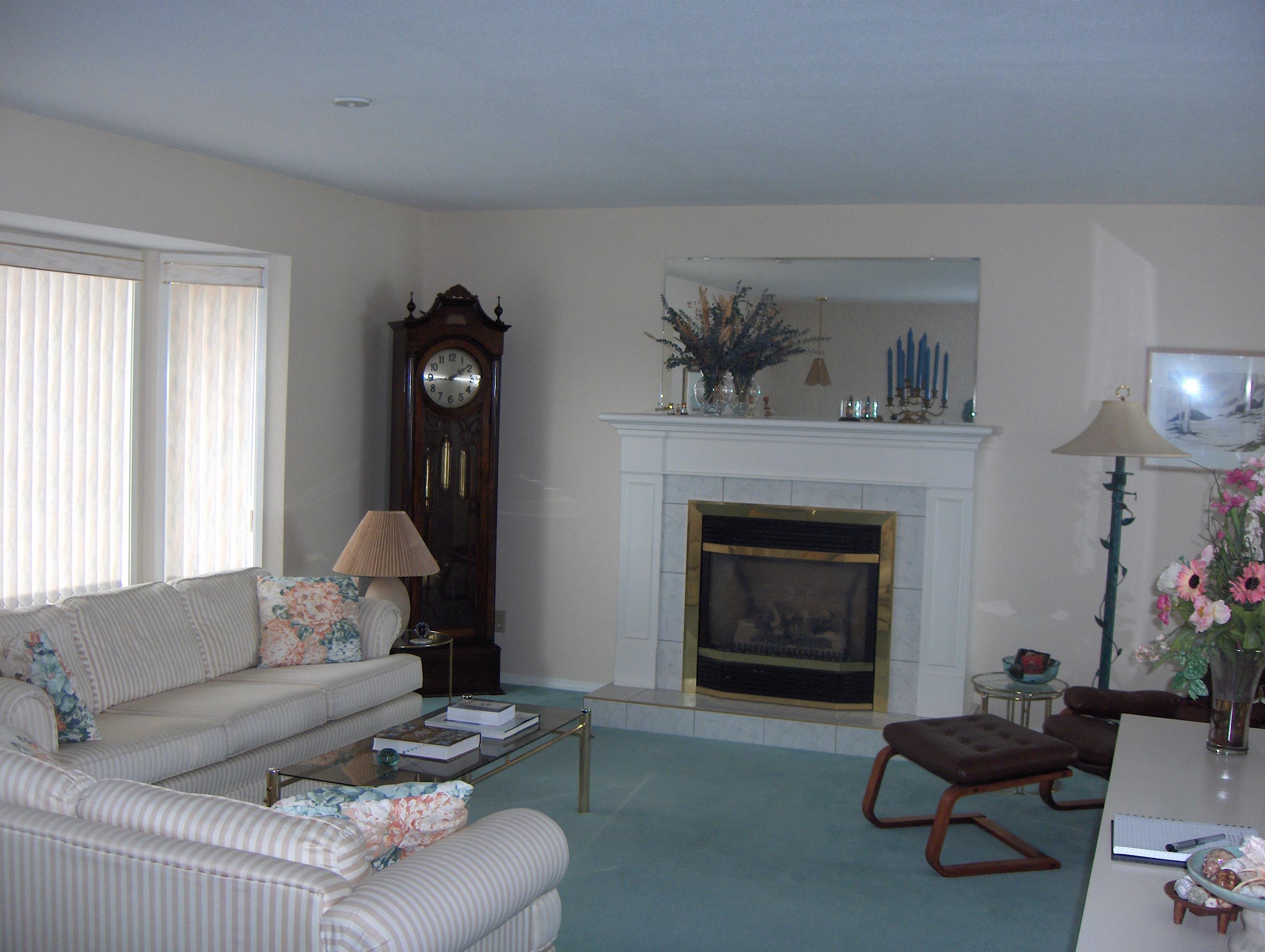 Living room before... | Creative Touch Kelowna Interior Design