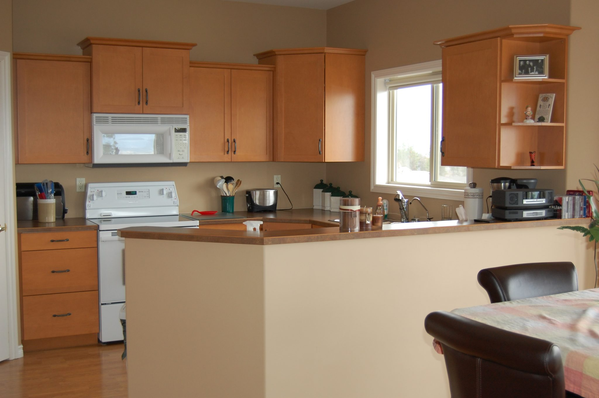 Kitchen before... | Creative Touch Kelowna Interior Design