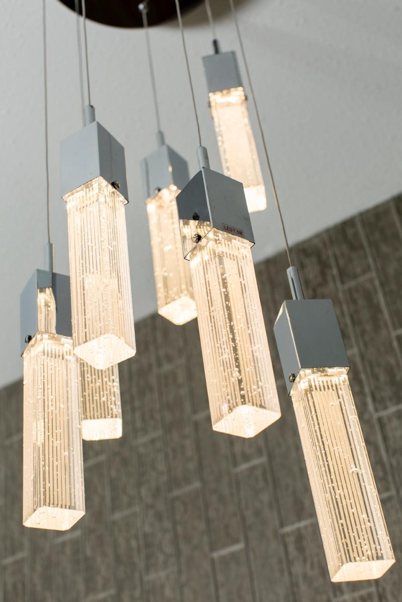 Elegant Light Fixture | Creative Touch Kelowna Interior Design