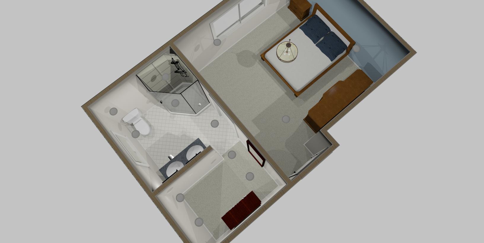 Interior Design Kelowna - Creative Touch 3D design render