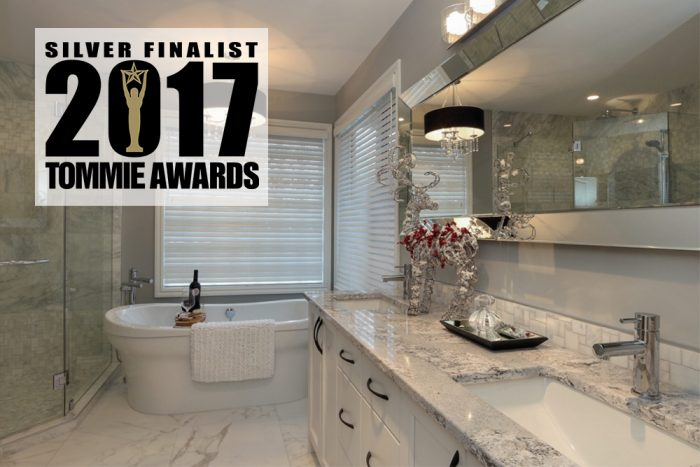 Interior Design Kelowna - Creative Touch Tommie Award winning project   Spa Ensuite