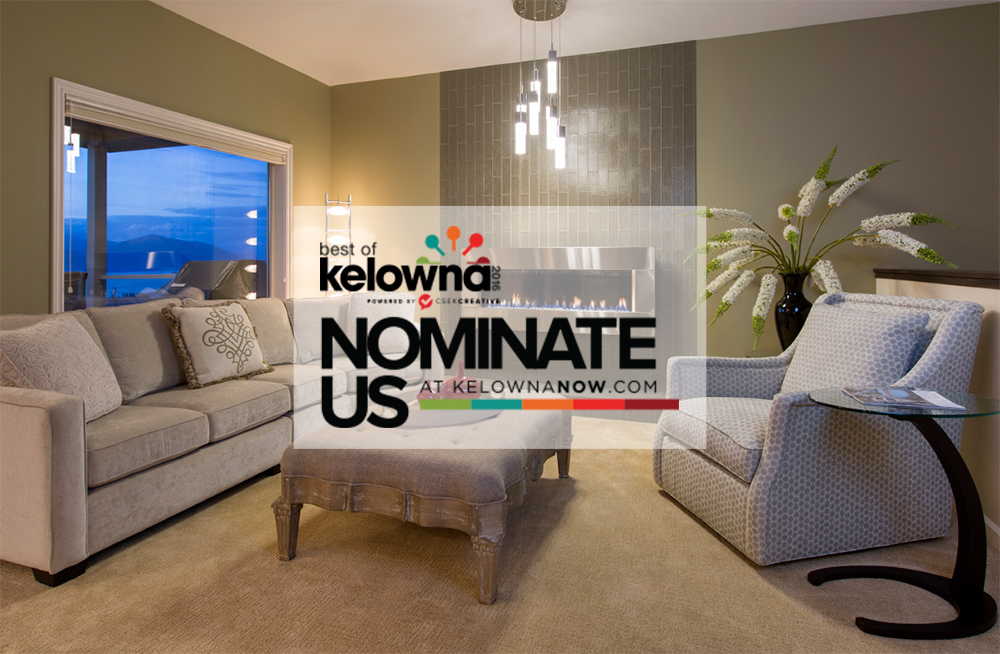 Nominate Creative Touch Interiors for Best of Kelowna