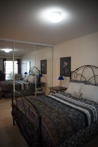 Full home renovation - bedroom before | Creative Touch Kelowna Interior Design