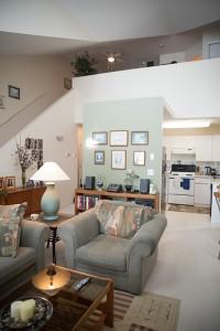 Full home renovation - living room before | Creative Touch Kelowna Interior Design